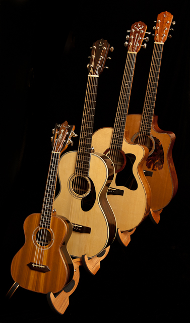 Lichty Guitars and a Ukulele