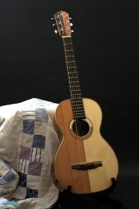 Handmade Patchwork Guitar