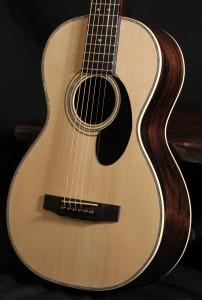 Handmade Parlor Guitar:Brazilian Rosewood Parlor Guitar