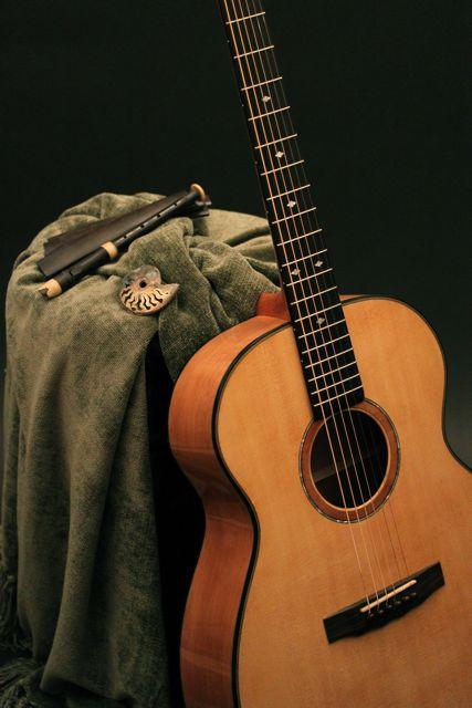 Handmade Ancient Kauri Guitar, Lichty Guitars