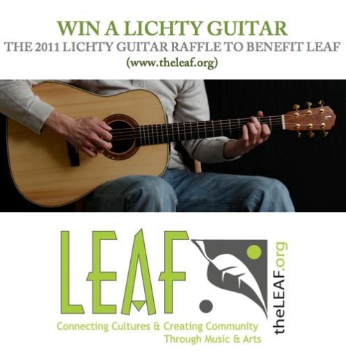2011 Guitar Raffle for LEAF